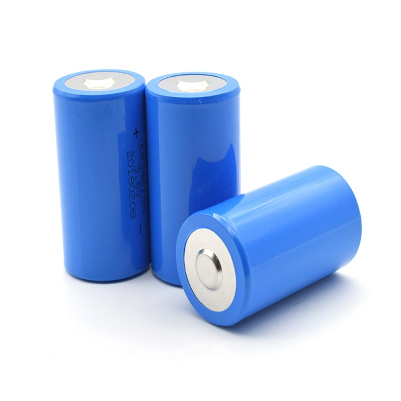 3.6V 13000mAh lithium thionyl chloride battery er34615m lisocl2 disposable battery for gas meter heat meter